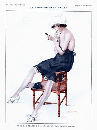 La Vie Parisienne, Glamour Erotica Underwear and Make-Up, France, 1910