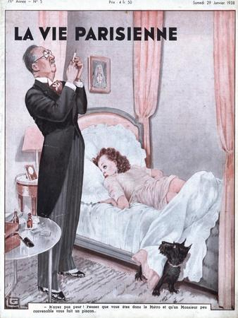 La Vie Parisienne, Erotica Bedrooms Magazine, France, 1938