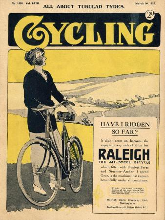 Cycling, Bicycles Magazine, UK, 1922
