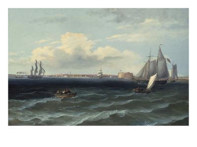 View of New York Harbor