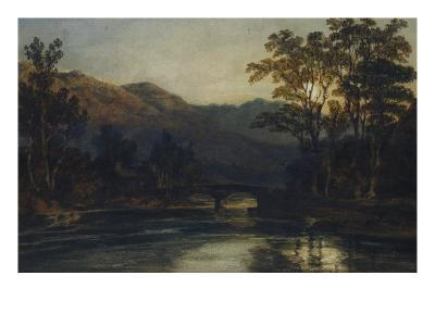 Bridge over a River by Moonlight, 1798