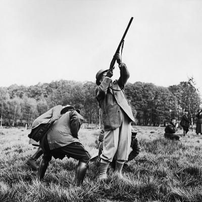 Vincent Auriol, Blasting Away at Pheasants