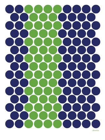Blue Green Dots