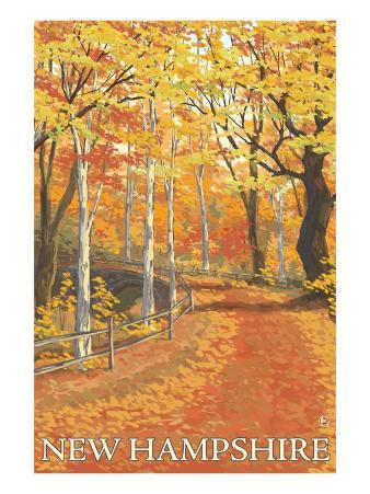 New Hampshire, Fall Colors Scene