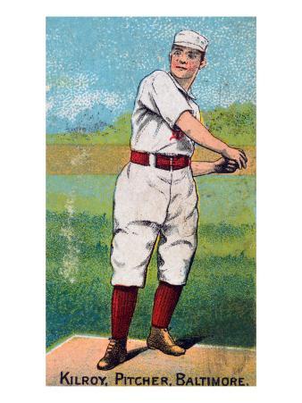 Baltimore, MD, Baltimore Orioles, Matt Kilroy, Baseball Card, no.3
