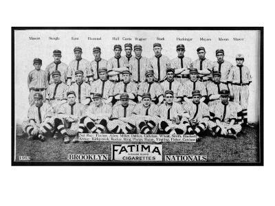 Brooklyn, NY, Brooklyn Dodgers, Team Photograph, Baseball Card