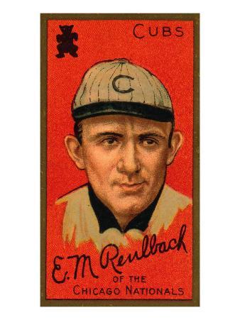 Chicago, IL, Chicago Cubs, Edward M. Reulbach, Baseball Card