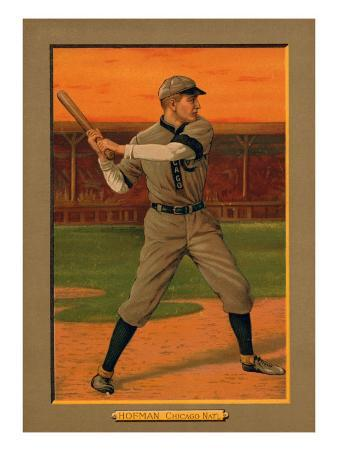 Chicago, IL, Chicago Cubs, Solly Hofman, Baseball Card