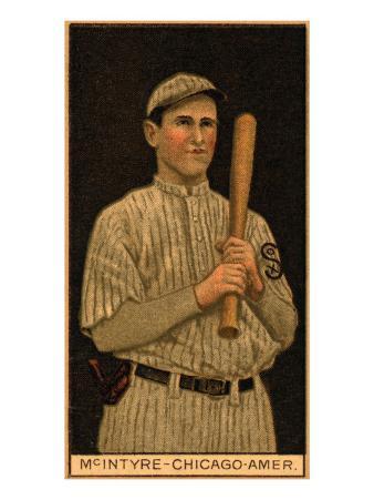 Chicago, IL, Chicago White Sox, Matthew McIntyre, Baseball Card