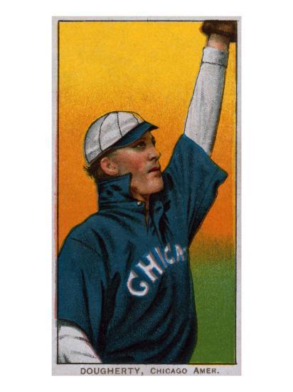 Chicago Il Chicago White Sox Patsy Dougherty Baseball Card