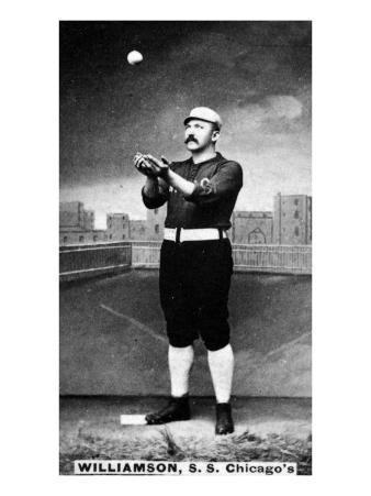 Chicago, IL, Chicago White Stockings, Ned Williamson, Baseball Card