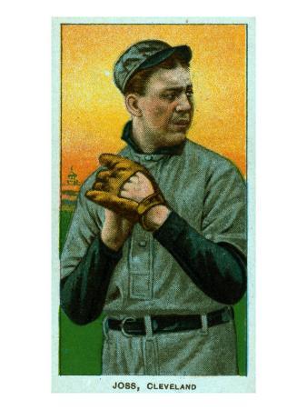 Cleveland, OH, Cleveland Naps, Addie Joss, Baseball Card