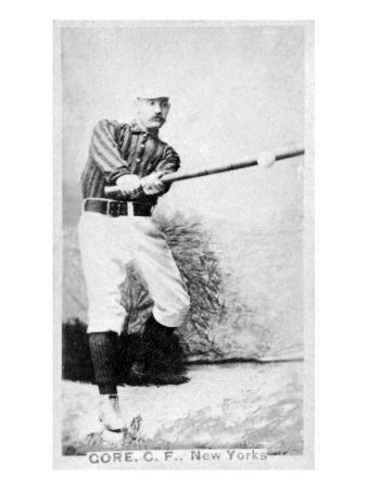 New York City, NY, New York Giants, George Gore, Baseball Card