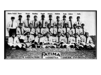 Washington D.C., Washington Nationals, Team Photograph, Baseball Card