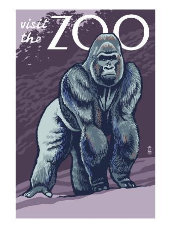 Visit the Zoo, Gorilla Scene