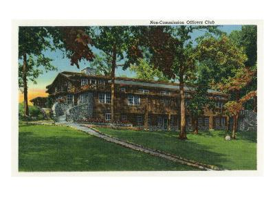 Fort Knox, Kentucky, Exterior View of the Non-Commission Officers Club