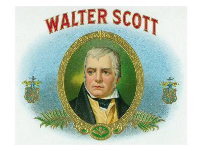 Walter Scott Brand Cigar Box Label