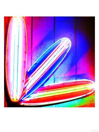 Neon Surf Boards, Miami