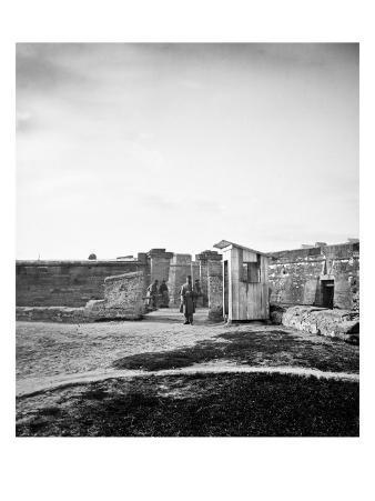 St. Augustine, FL, Ft. Marion Gate, Civil War