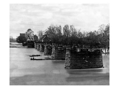 Richmond, VA, Ruins of Mayo's Bridge, Civil War
