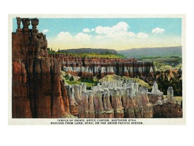 Bryce Canyon National Park, Utah, General View of the Temple of Osiris
