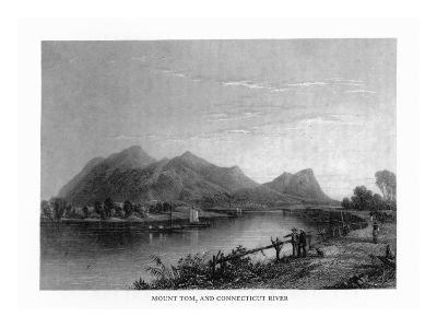 Connecticut, View of Mount Tom from the Connecticut River