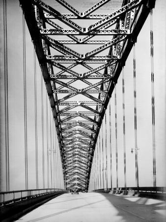 View Along the Bayonne Bridge