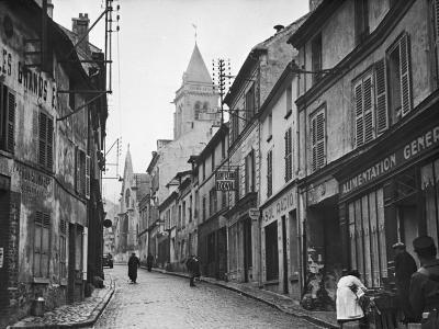 View of the Town of Cormeilles-En-Parisis Where Daguerre was Born