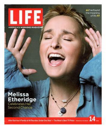 Portrait of Singer Melissa Etheridge, October 14, 2005