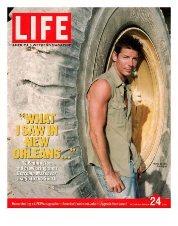 Extreme Makeover Host Ty Pennington on Location in post-Katrina Ravaged South, March 24, 2006