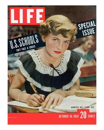 Special Issue on US Schools, October 16, 1950
