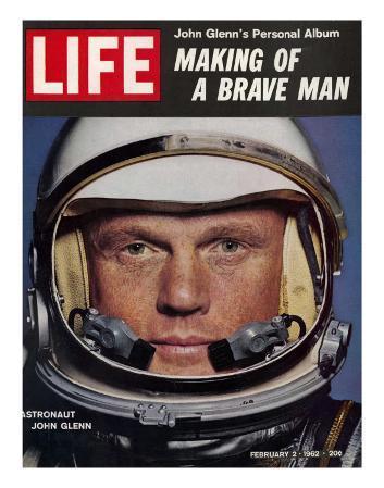 Astronaut John Glenn, Making of a Brave Man, February 2, 1962