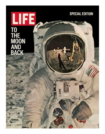 To the Moon and Back, Reflections on Astronauts Facemask, August 11, 1969