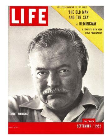 Author Ernest Hemingway Taken, September 1, 1952