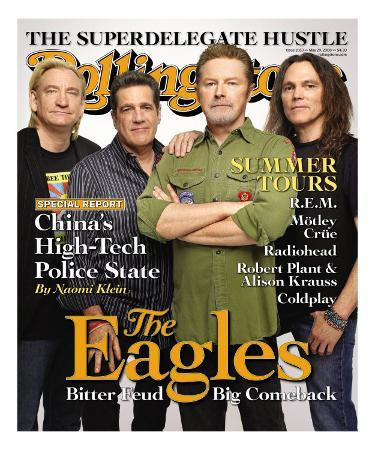The Eagles, Rolling Stone no. 1053, May 2008