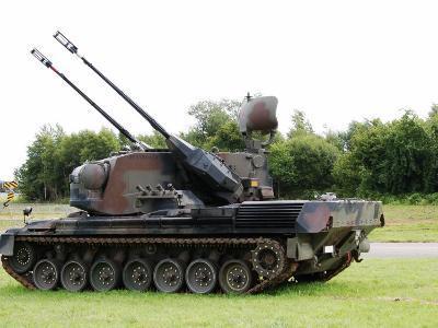 Gepard Anti-Aircraft Tank of the Belgian Army