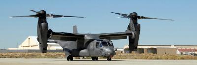 CV-22 Osprey Prepares for Take-Off