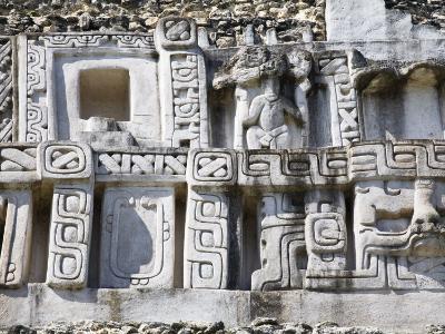 Frieze, 130Ft High El Castillo, Xunantunich Ruins, San Ignacio, Belize