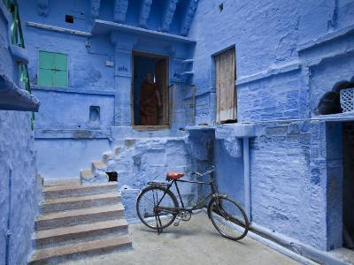 Traditional Blue Architechture, Jodhpur, Rajasthan, India