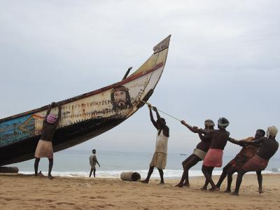 Fishermen, Kerala, India