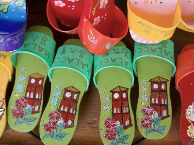 Sandals for Sale in Chinatown, Melaka, Malaysia
