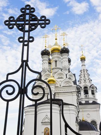 Russian Orthodox Church in Bagrationovsk, Kaliningrad, Russia