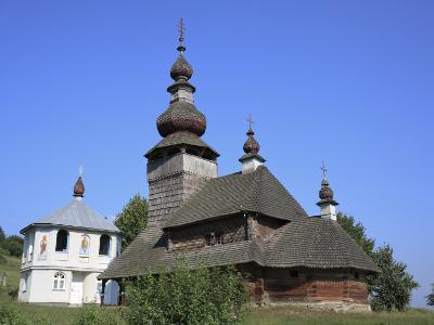 St. Nicholas Wooden Church, Svaliava, Zakarpattia Oblast, Transcarpathia, Ukraine