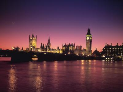 Big Ben and Houses of Parliamant, London, England