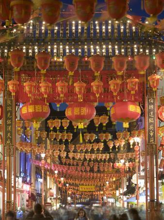 Chinese New Year, China Town, London, England