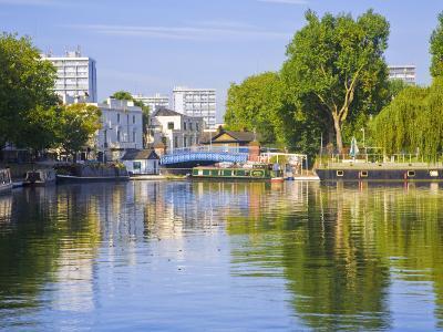 Canal Boats, Little Venice, Maida Vale, London, England