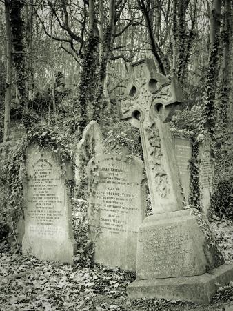 Highgate Cemetery, London, England