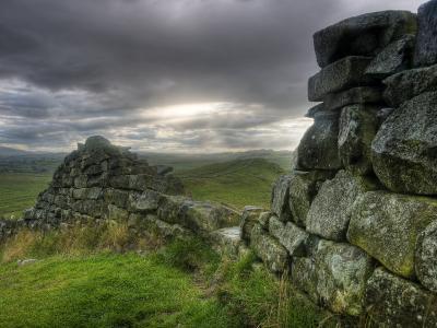 Hadrians Wall, Northumberland, UK