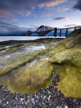Forth Rail Bridge, Firth of Forth, Edinburgh, Scotland, UK