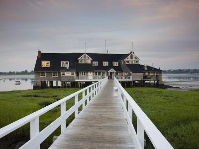 Annisquam Yacht Club, Gloucester, Cape Ann, Massachusetts, USA